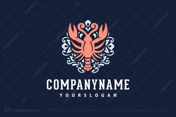Logo for sale: Elegant Seafood Logo