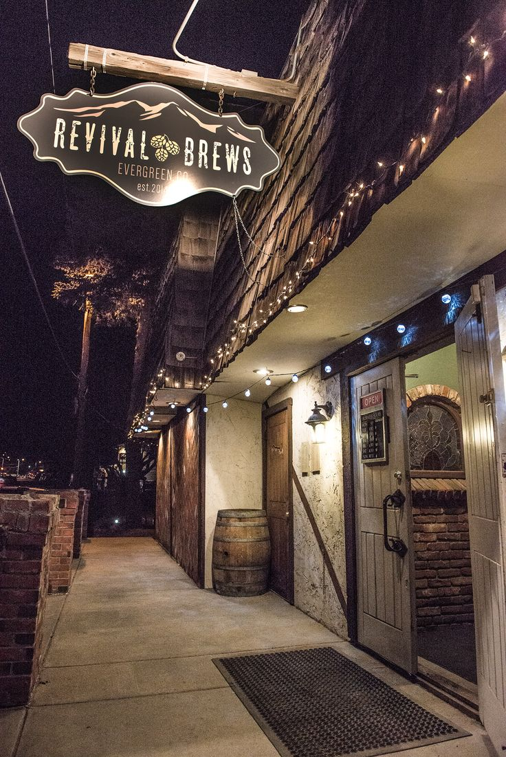 Revival Brews - A Taphouse in Evergreen, Colorado, a creative district. www.revivalbrews.pub