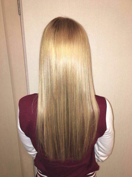 Окрашивание и Ботокс волос для Екатерины