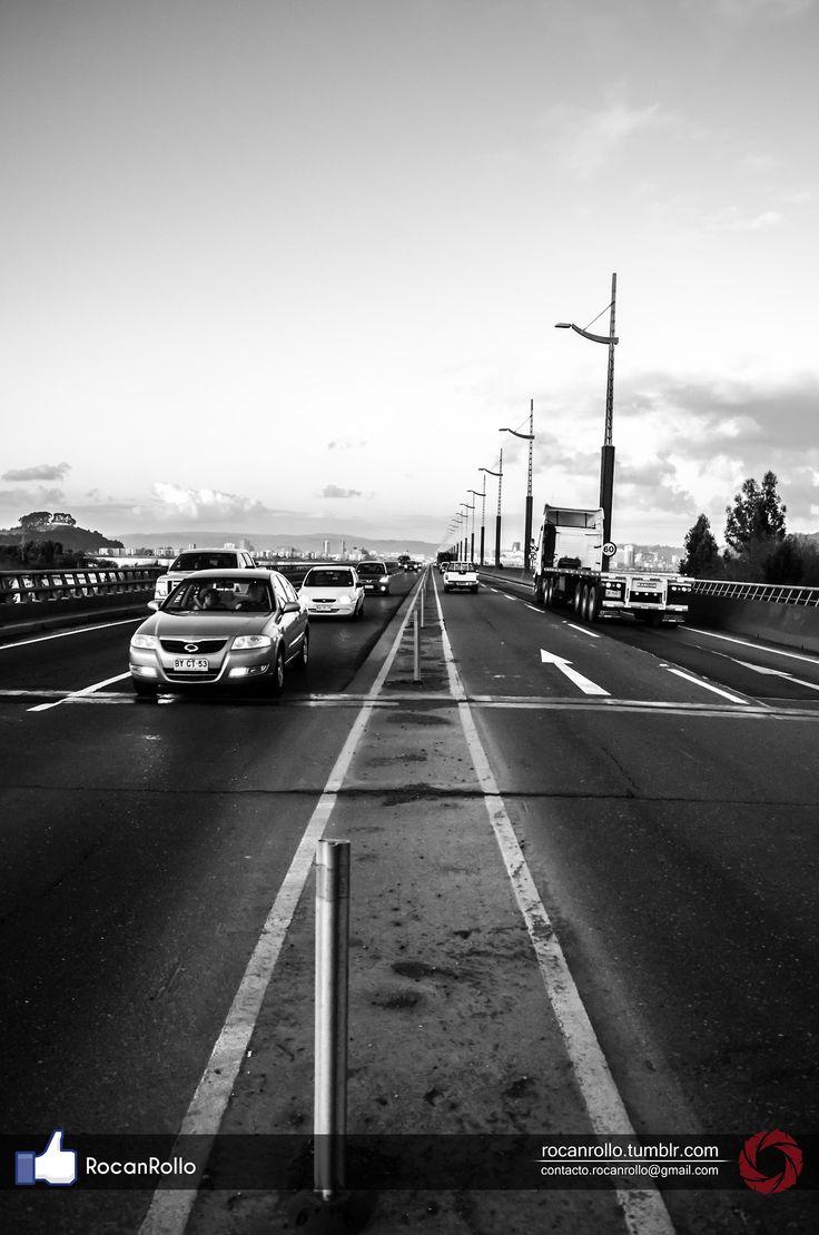 #fotografia #Byn #byw #bridge #RocanRollo #Nikon #Concepcion rocanrollo.tumblr.com