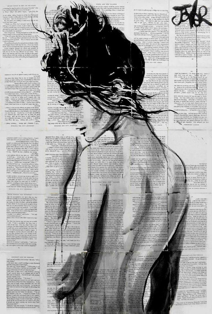 """Saatchi Art Artist Loui Jover; Drawing, """"summer ardour"""" #art"""