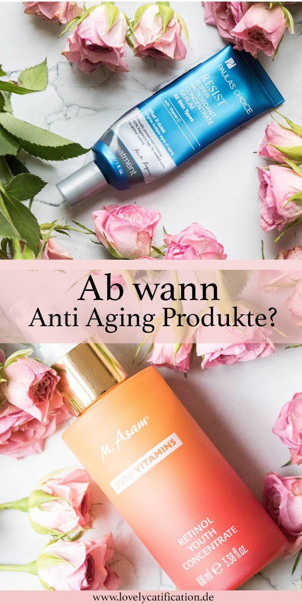 ♥♥♥ Ab wann Anti-Aging Produkte verwenden? Erfahre es jetzt bevor es zu spät ist! ♥♥♥ #antiaging #pflege