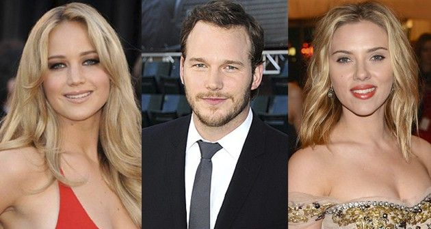 Jennifer Lawrence, Chris Pratt y Scarlett Johansson, los actores más rentables de 2014 - Redacción