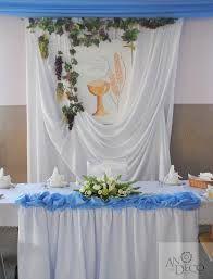 Image result for dekoracje komunijne
