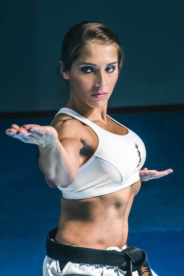 You tried Nude fitness girl martial arts