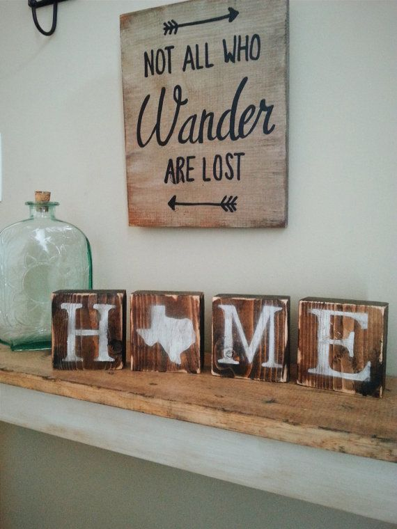 Hey, I found this really awesome Etsy listing at https://www.etsy.com/listing/268436835/rustic-texas-blocks-reversible-love