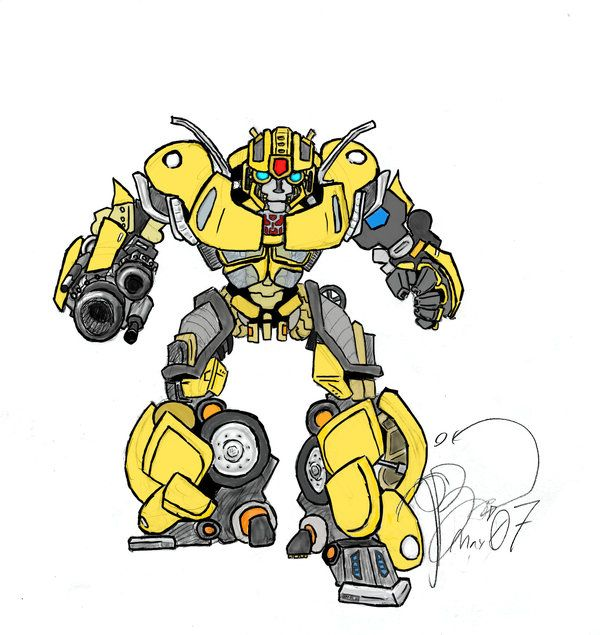 Transformers  Bumblebee by  Skeleton-Boy on deviantART ~ for invite image  f5d3c926699