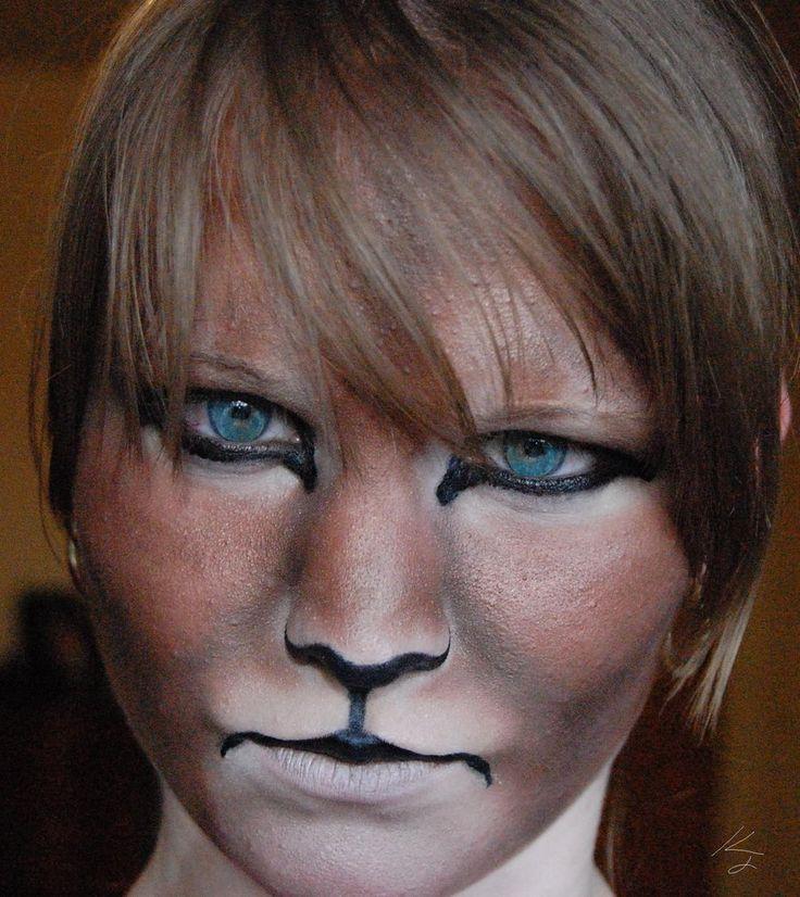 The 25+ best Lion makeup ideas on Pinterest | Lioness makeup, Cat ...