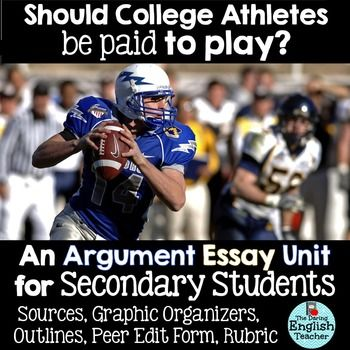 Persuasive On Paying College Athletes Example | Graduateway