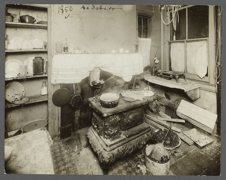 New York Tenement Housing Early 1900s Photography By