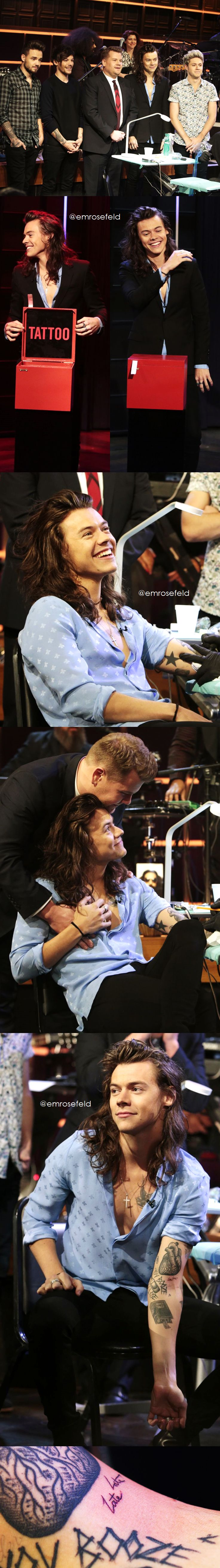 One Direction | The Late Late Show with James Corden 12.3.15 | @emrosefeld |