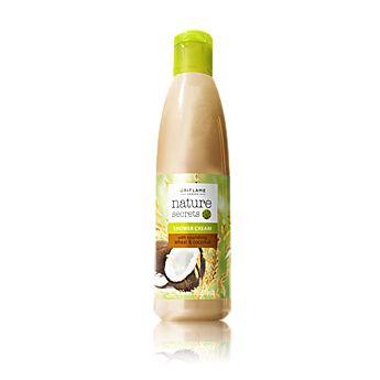 Nature Secrets Shower Cream with Nourishing Wheat & Coconut    Vyživující sprchový gel s pšenicí a kokosem Nature Secrets - maxi balení