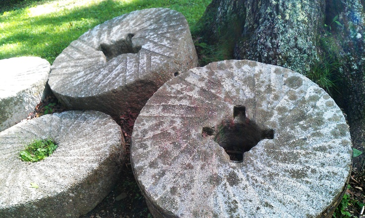 1000 Images About Grist Mill Stones On Pinterest