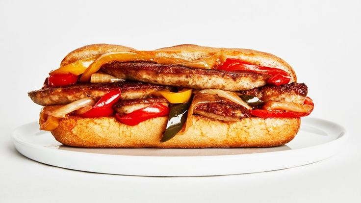 Sausage, Peppers, and Onions Subs Recipe | Bon Appetit
