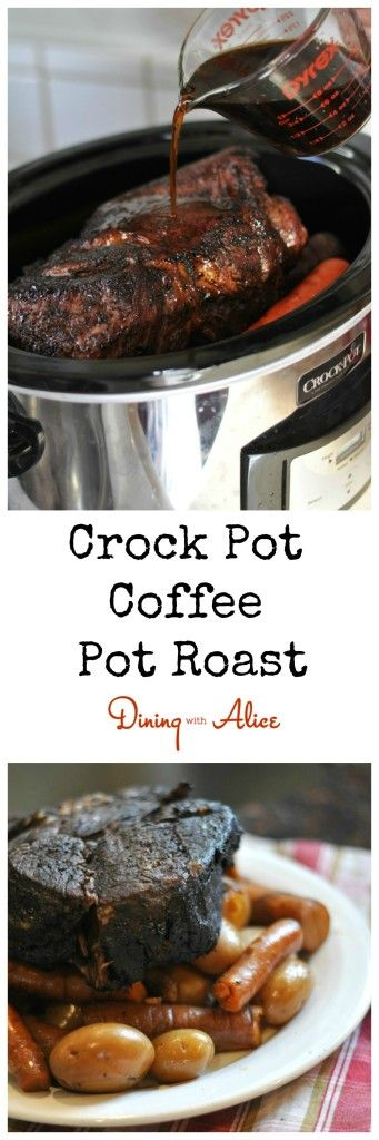 Slow Cooker Espresso-Rubbed Pot Roast Recipe — Dishmaps