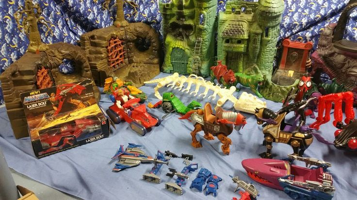 Huge Vintage MOTU Lot Collection He Man Scareglow and Many Other RARE Guys Plus | eBay