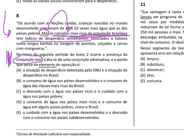 Prova de Português do TJRJ comentada   parte 3