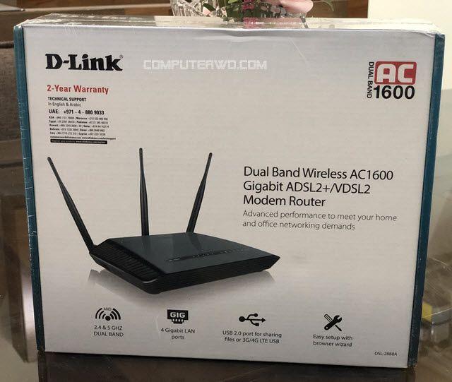 تجربة شراء راوتر D Link Ac1600 2888a والداعم للسرعة الفائقة Modem Router Modem Router