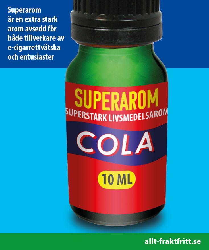 Super Aromerna är godkända för smaksättning i alla livsmedel och har många fler användningsområden än e juice för e-cigg (e-cigaretter).