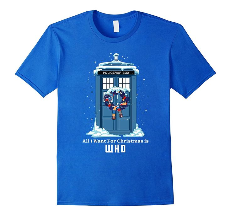 All I want for Christmas is WHO!   Buy now!   #DoctorWho #Christmas