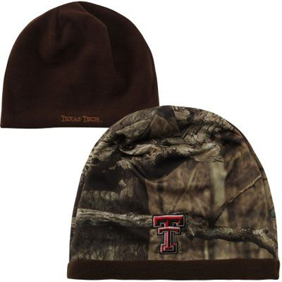 Top of the World Texas Tech Red Raiders Scout Reversible Knit Beanie - Camo