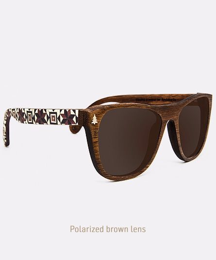 Salitre X Aikabia, Wooden sunglasses handmade in Andalusia, by Laveta x Tarxia.