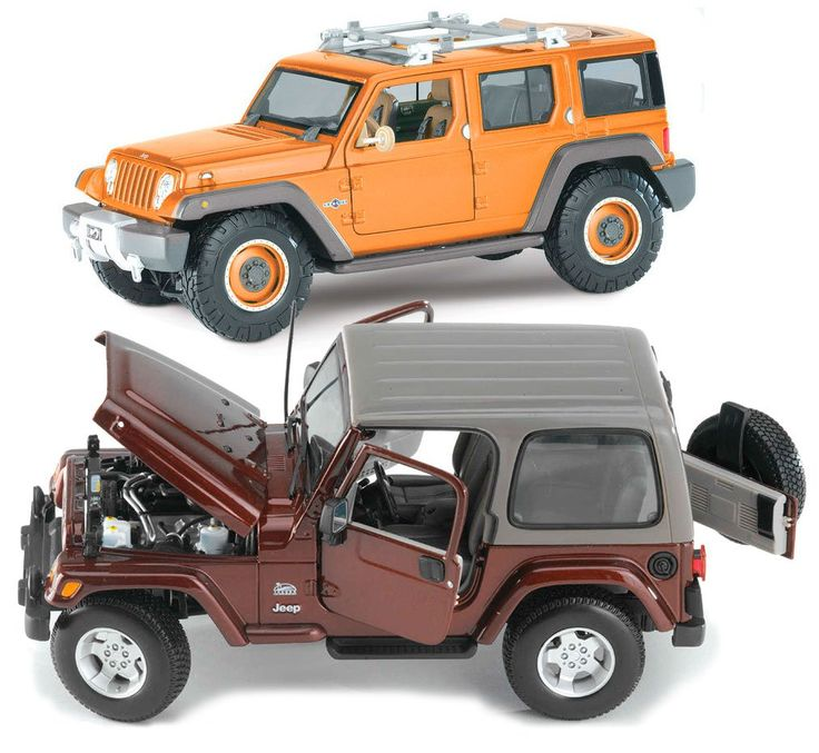 Jeep Wrangler Collectible Models