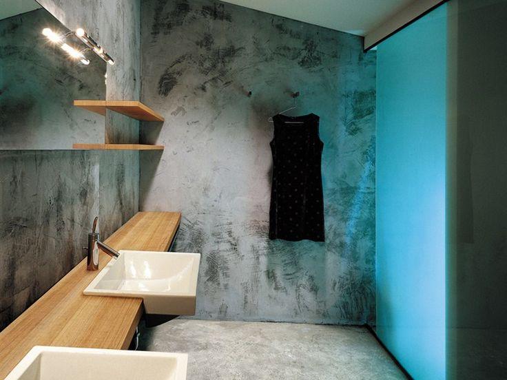 Plan de toilette double en bois collection block by moab for Moab salle de bain