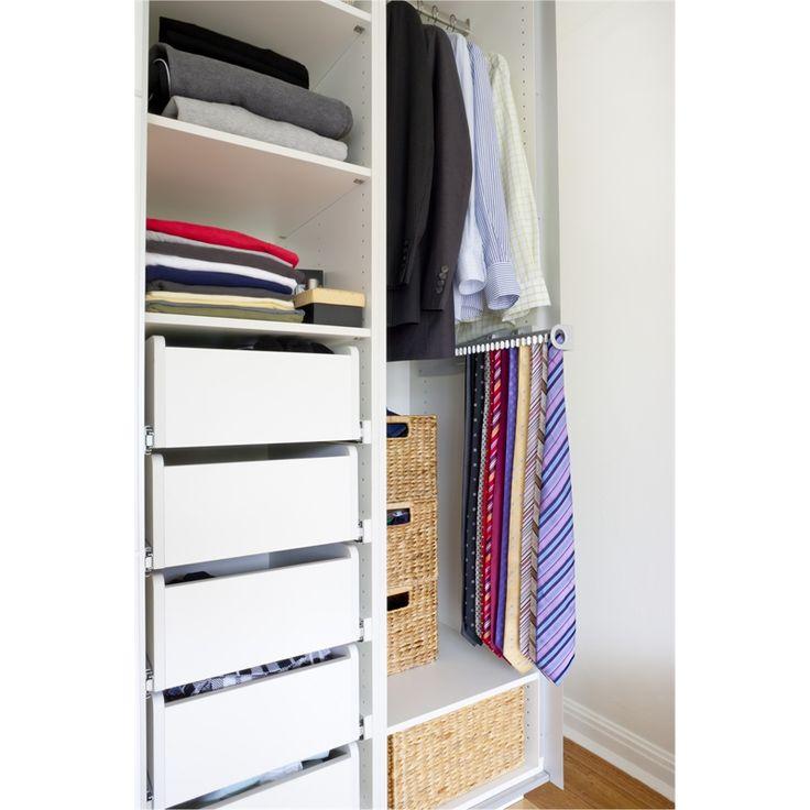 flatpax modern wardrobe shelves 450mm white 2pk