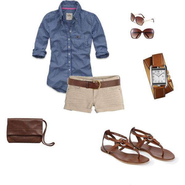 Summer, created by mrscosentino.polyvore.com   Would do with my sneaks