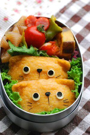 ねこちゃんのおべんとう - てしぱんさんの簡単かわいいおべんとさん レシピブログ - 料理ブログのレシピ満載!