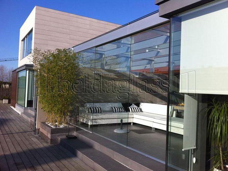 Mejores 35 im genes de cerramiento porches en pinterest for Cerramientos de cristal para terrazas