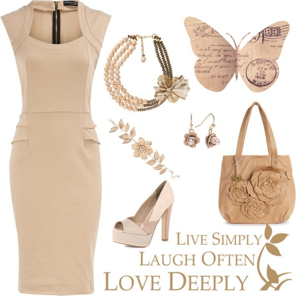 Classy Beige Outfit