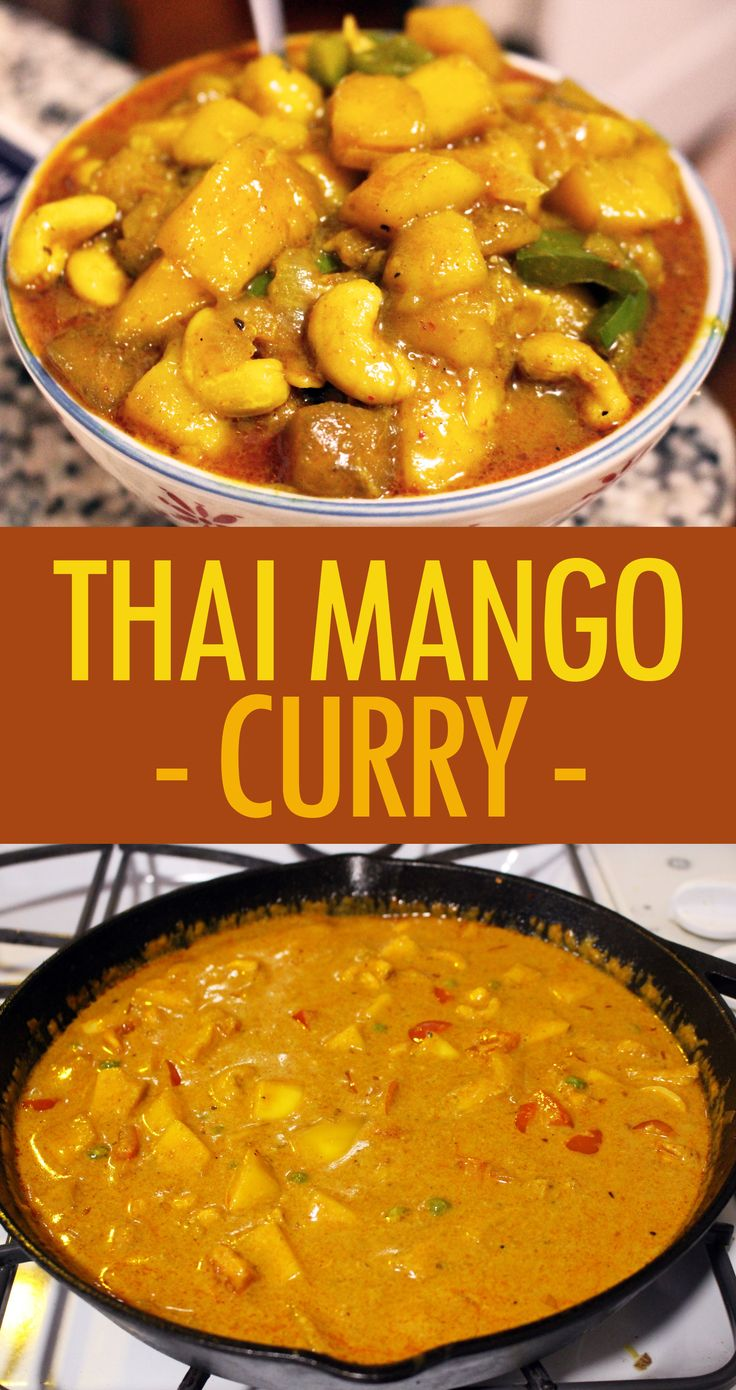 Thai Mango Curry – Hobbit Scribbles