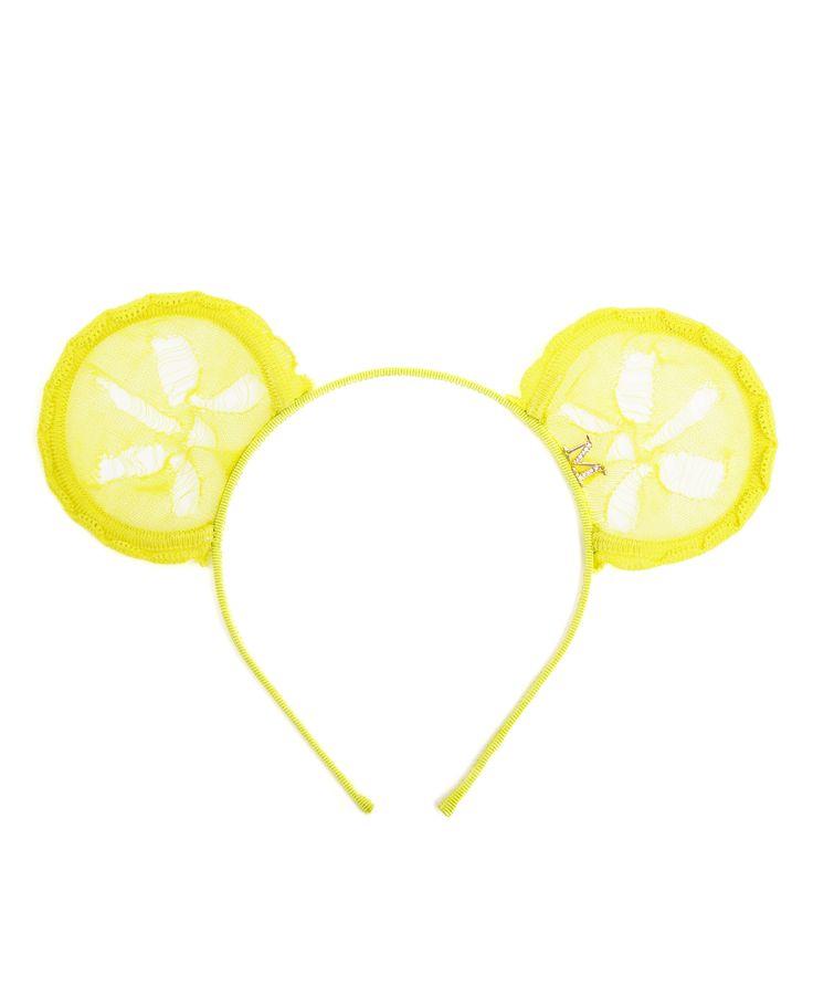 MAISON MICHEL | Heidi Lace Bear-ear Headband | Browns fashion & designer clothes & clothing