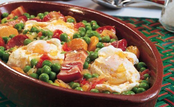 Guisantes con jamón y huevo al estilo de Portugal   Recetas Thermomix https://recetasconthermo.com/2018/03/21/guisantes-con-jamon-y-huevo-al-estilo-de-portugal/