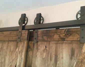 Barn door hardware by CedarGulchMetalWorks on Etsy