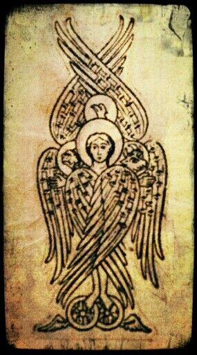 Ezekiel's wheel, ancient angel
