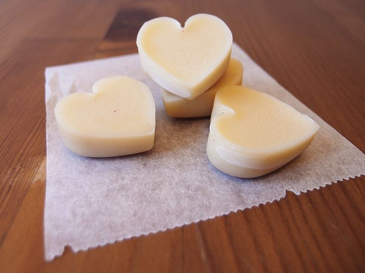 Lotion bars (bees wax, coconut oil, olive oil)