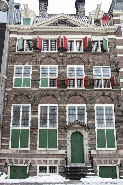 The Rembrandt House Museum - Amsterdam, Netherlands