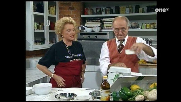 Nadja Tiller und Walter Giller kochen mit Bio (Alfredissimo)