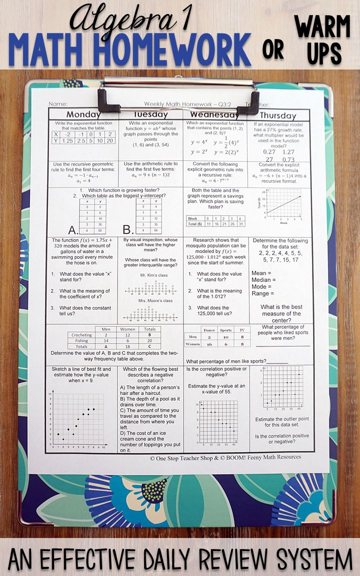 worksheet One Grain Of Rice Worksheet Answers 249 best teaching images on pinterest linear function math middle algebra 1 homework or warm ups that provide a daily review for standards