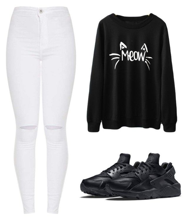 """""""Outfit"""" by vicky-skoufh on Polyvore featuring NIKE"""