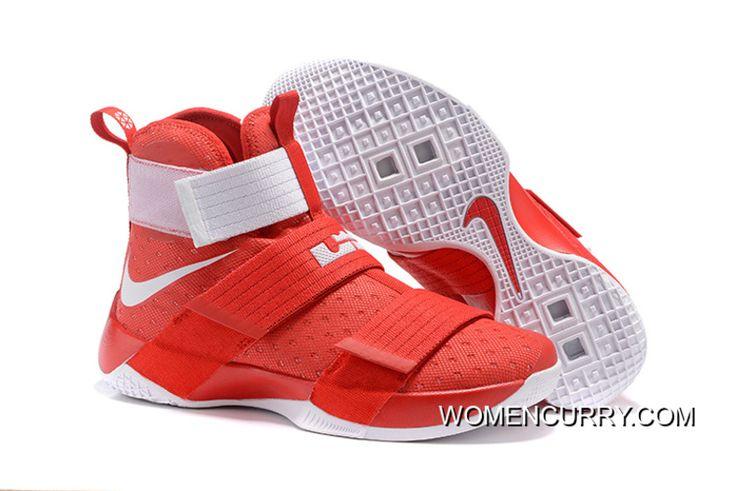 Nike LeBron Soldier 10 Ohio State Free Shipping