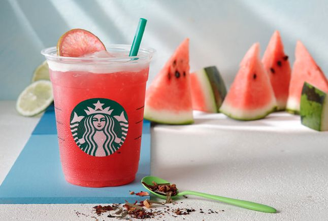 Starbucks Japan brings out Shaken Watermelon and Passion Tea for a limitedtime | SoraNews24