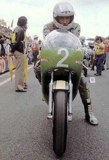 Greg Hansford on his Kawasaki 250cc
