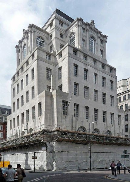 Midland Bank Manchester. the King of King Street