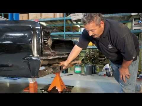 On this episode of The Build American Modern's Build team is taking the 1965 Chevy Malibu's body off of the frame. Rick Drewry, American Modern's Sr. Claims Specialist will explain the type of damage he sees to the frame as well as the underbody of the vehicle.  Be sure to visit us on Facebook: http://www.facebook.com/americanmoderncollectorcar #TheBuild @American Modern Insurance Group