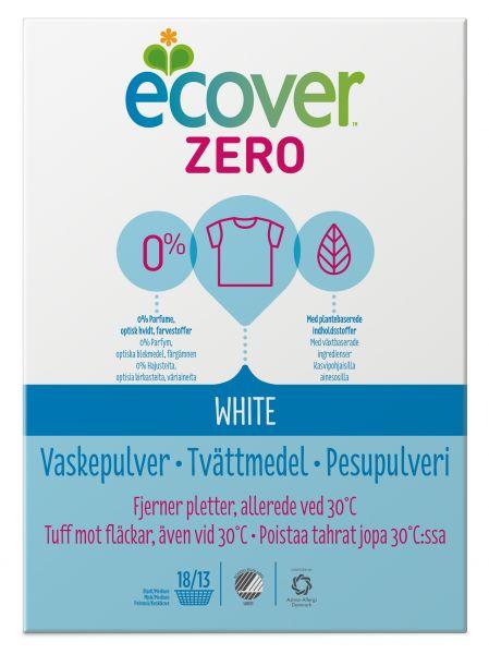 Ecover ZERO White Vaskepulver, 750 gram - Vidunderbarn.no