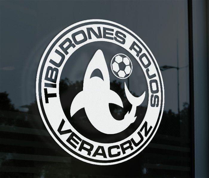 Tiburones Rojos Veracruz Mexico Decal Sticker